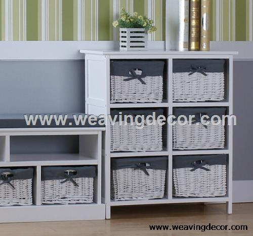 wooden cabinet wood cabinet storage cabinet rh weavingdecor com white wooden storage cabinet with wicker baskets Storage Unit with Wicker Baskets
