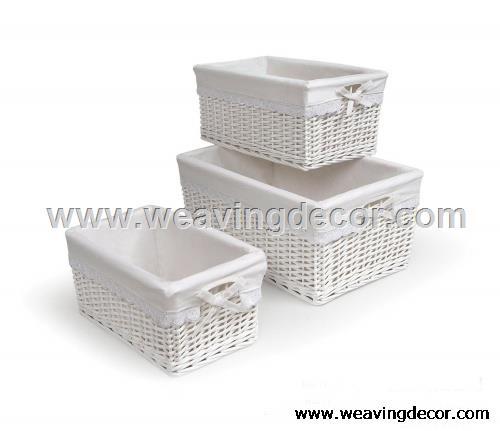 cheap wicker storage basket wicker basket hamper fruit bread basket decoration
